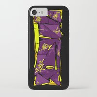 evil iPhone & iPod Cases featuring EVIL by clogtwo