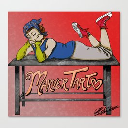 MarverTart Canvas Print