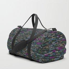 Web developer Duffle Bag