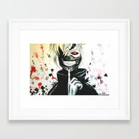 comic Framed Art Prints featuring comic by shannon's art space