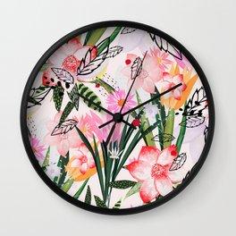 karel II Wall Clock