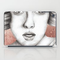 sleeping beauty iPad Cases featuring Sleeping Beauty by Kayleigh Day