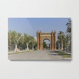 Arc de Triomf Metal Print