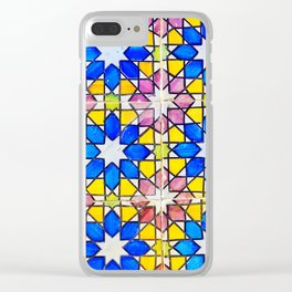 Azulejos - Portuguese tiles Clear iPhone Case