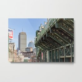 The Other Side of the Wall, Boston Metal Print