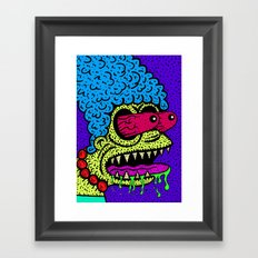 MARGE GRIMMSON.   (THE GRIMMSONS). Framed Art Print