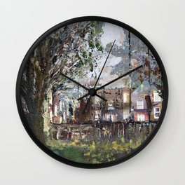 Who is living there? Wall Clock