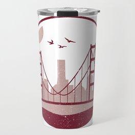Golden Gate Bridge Travel Mug