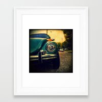 beetle Framed Art Prints featuring Beetle by Melissa Lund