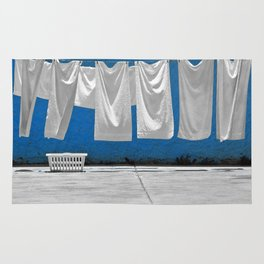 Laundry In The Breeze Rug