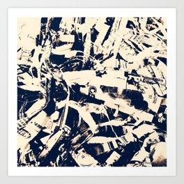 Scraps Art Print