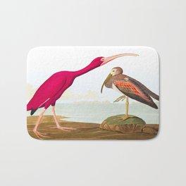 Scarlet Ibis Bird Bath Mat