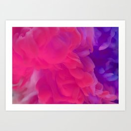 CREATE YOUR LIFE'S COLOR Art Print