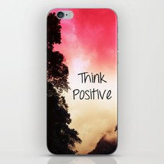 Think Positive iPhone & iPod Skin