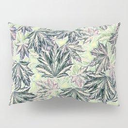 EMERGING MAPLE LEAVES INVERTED Pillow Sham