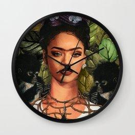 Riri in the Jungle Wall Clock