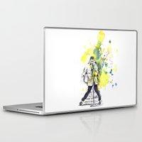 elvis presley Laptop & iPad Skins featuring Elvis Presley Dancing by idillard