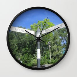Take the road most traveled Wall Clock