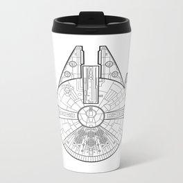 Millenium Falcon. Metal Travel Mug