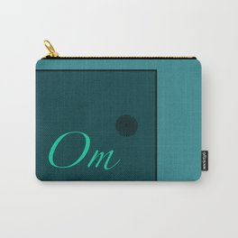 Om Blue Carry-All Pouch
