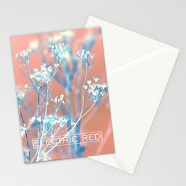 ELECTRIC RED Stationery Cards