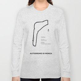 Autodromo di Monza - white Long Sleeve T-shirt