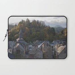 A small city in Auvergne, France. Laptop Sleeve