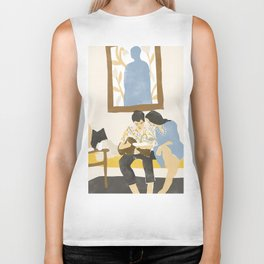 You and me and the music Biker Tank