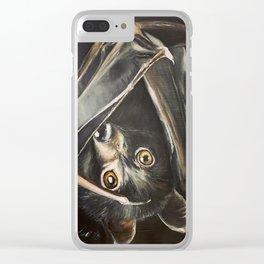 Bat Clear iPhone Case