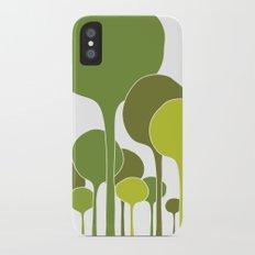 Green palette Slim Case iPhone X