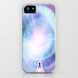 The Search of Light iPhone Case