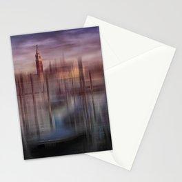 City-Art VENICE Gondolas at Sunset Stationery Cards