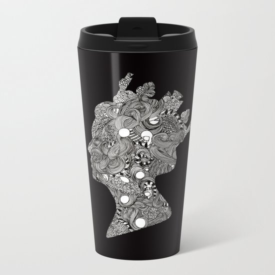 God Save the Queen Metal Travel Mug