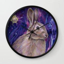 Rabbit Spirit Wall Clock