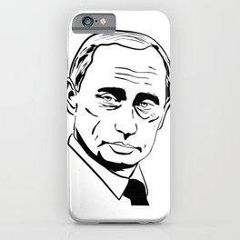 Vladimir Putin Silhouette iPhone Case