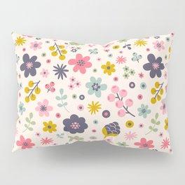 Pretty Flowers Pillow Sham