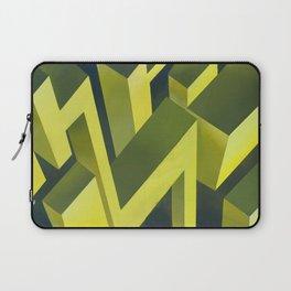 Cubic thunders Laptop Sleeve