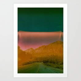Road to my subconscious mind Art Print