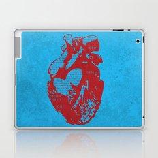 Binary heart Laptop & iPad Skin