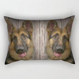 Zwei dieser Dinge Rectangular Pillow