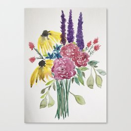 Springtime Bouquet Canvas Print