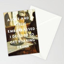The Absinthe Drinker (1859), Édouard Manet // The Great Gatsby (2013), Baz Luhrmann Stationery Cards