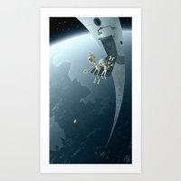 bombs away Art Prints featuring Bombs Away by Otis Frampton