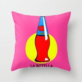 La Botella Mexican Loteria Card Throw Pillow