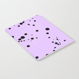 Lavender & Black Spots Notebook