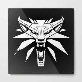 The Witcher Metal Print