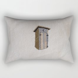 Out (of the) House Rectangular Pillow