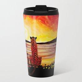 Calvin And Hobbes Art Painting Travel Mug