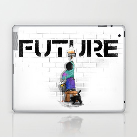 No Future Laptop & iPad Skin