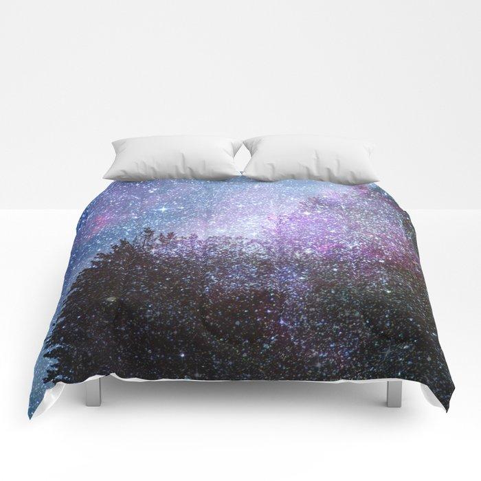 Stars forest..... Cosmic. Comforters
